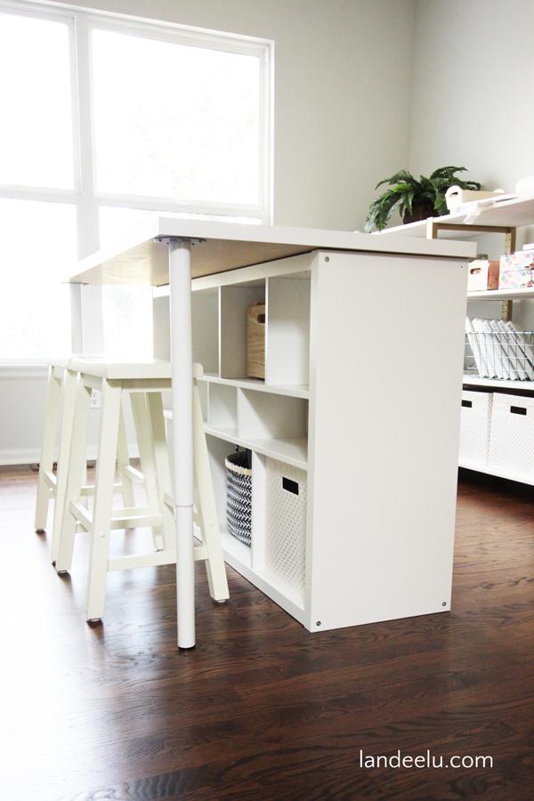 Trasformare una mensola IKEA in un\'isola di cucina! 20 esempi...