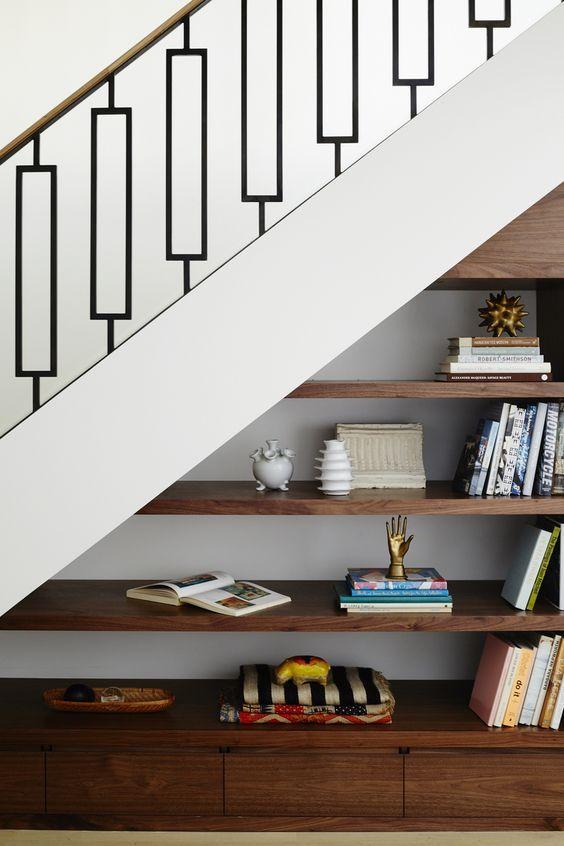 Am nagement sous escalier 20 id es pour optimiser au for Jaula de la escalera de color idea