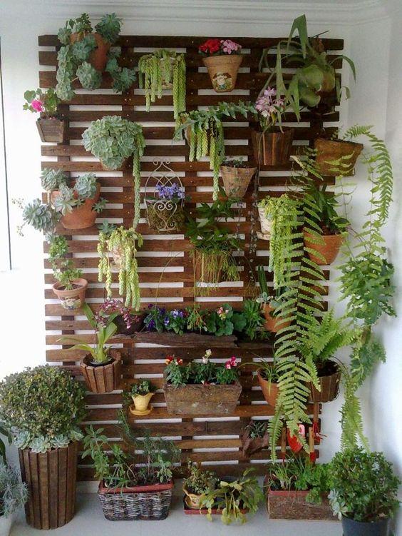 Bien-aimé Un mur végétal pour un décor très original! 20 idées + VIDEO DY64