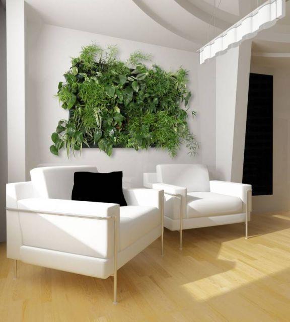 Un mur v g tal pour un d cor tr s original 20 id es video for Realiser un mur vegetal