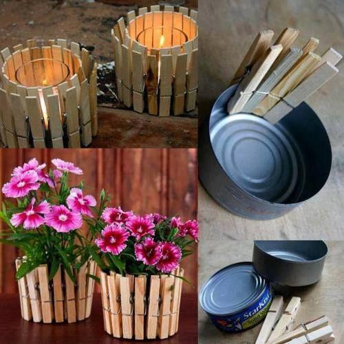 riciclo creativo scatolette di tonno 2