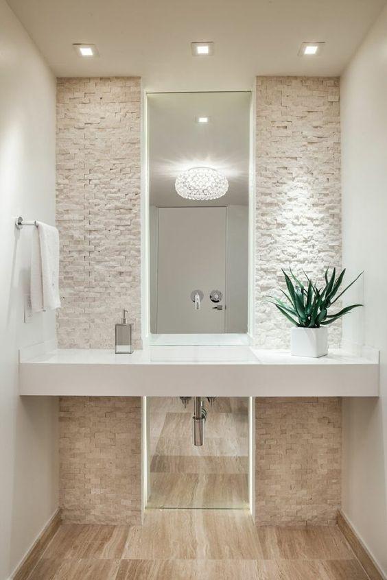 rivestimento pietra bagno 1