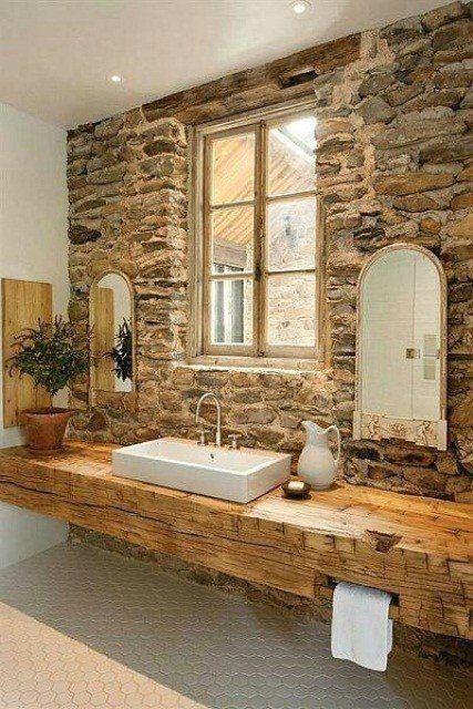rivestimento pietra bagno 8