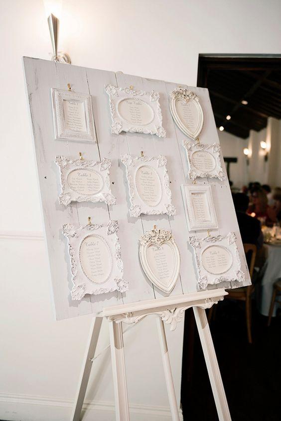 Un plan de table mariage en palettes