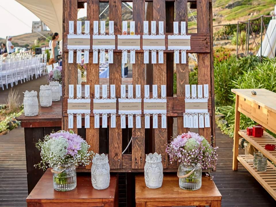 Tableau Matrimonio In Legno : Un plan de table mariage en palettes idées inspirez