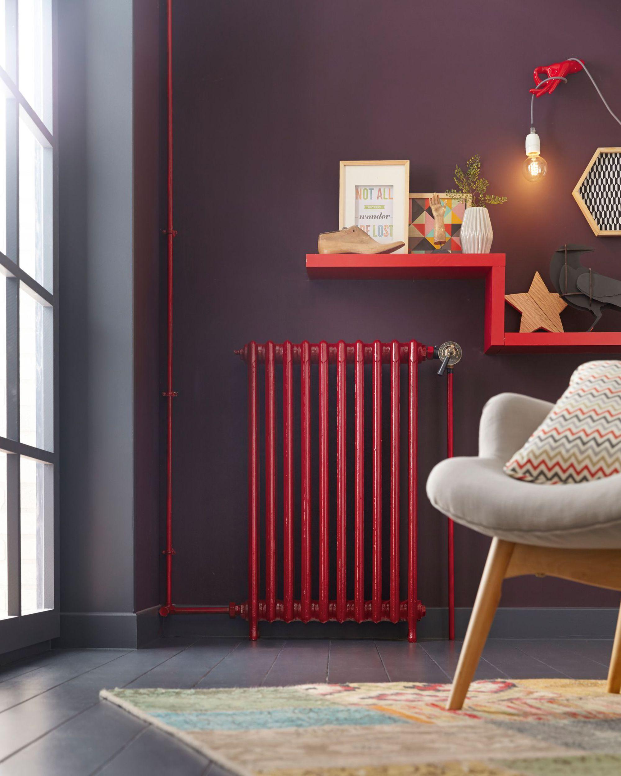 Peindre et d corer les radiateurs 20 exemples pour int grer dans la d co - Decorer un radiateur ...