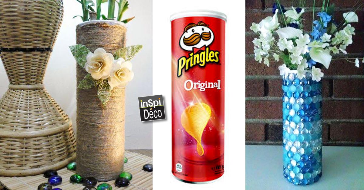 Recycler les boites de chips pringles 26 id es pour vous for Des idees deco pour tout recycler