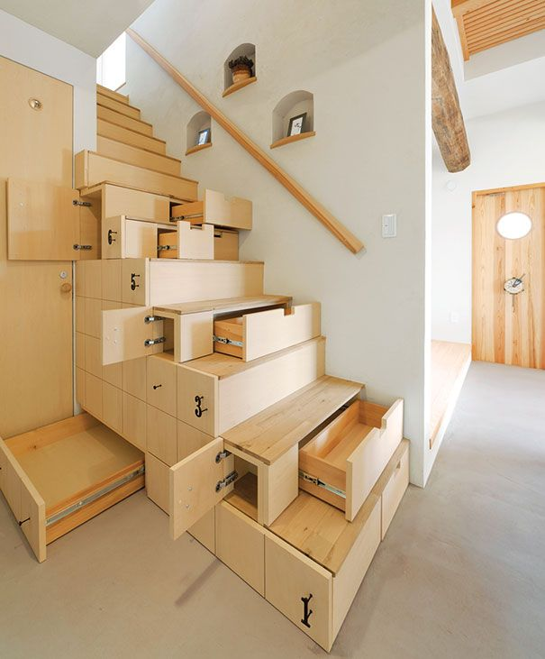 Des idées sous escalier