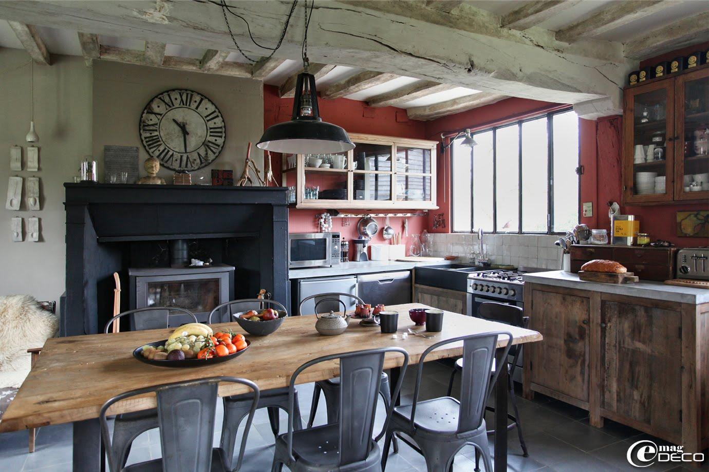 esprit bistrot pour la cuisine voici 20 id es pour vous inspirer. Black Bedroom Furniture Sets. Home Design Ideas