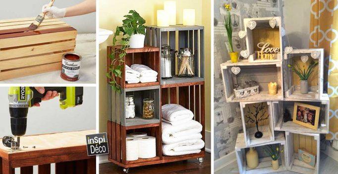d co avec des caisses en bois archivi inspid co. Black Bedroom Furniture Sets. Home Design Ideas
