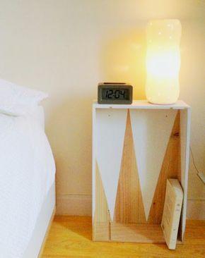 Comodini originali per la camera da letto