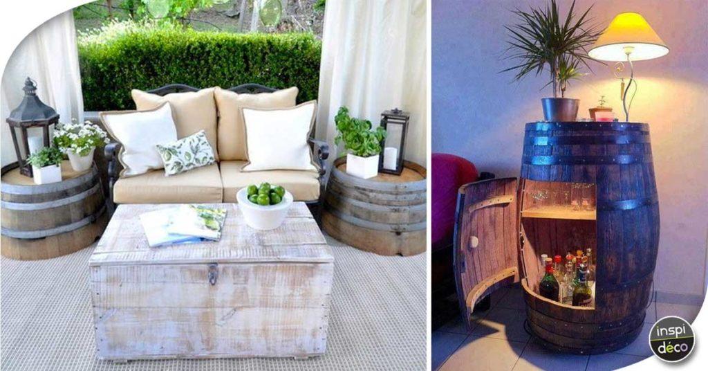 Recycler des tonneaux de vin pour décorer son intérieur! 37 ...
