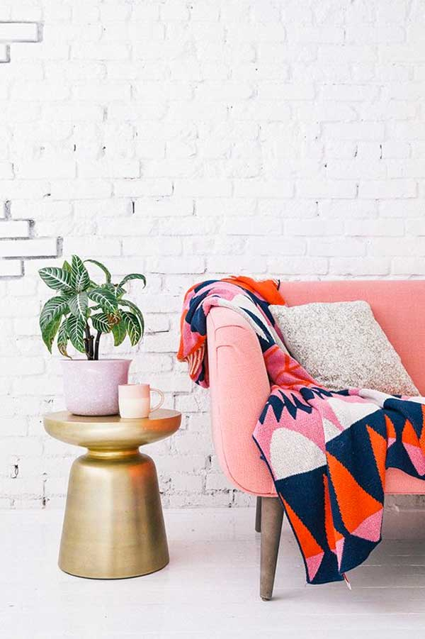 idea divano rosa