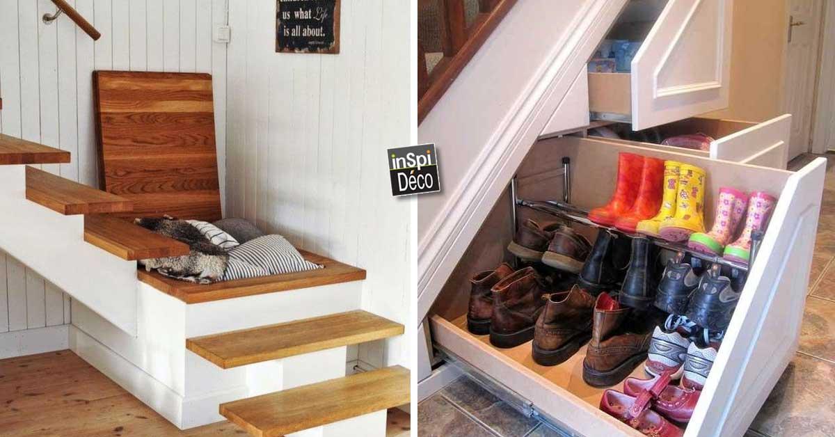 gain de place dans votre int rieur voici 12 projets pour vous inspirer. Black Bedroom Furniture Sets. Home Design Ideas