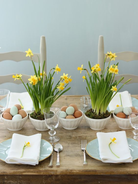 Déco de table pour Pâques