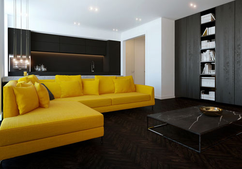 How To Marry The Yellow And Black In The Lounge   Idea No. 12 Part 25