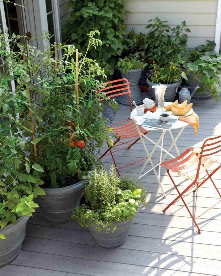 am nager un petit potager sur son balcon 20 id es. Black Bedroom Furniture Sets. Home Design Ideas
