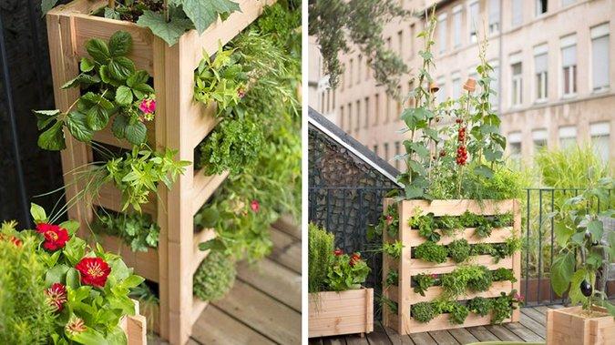 Impostare un piccolo orto sul suo balcone! 20 idee ispiratrici + Video