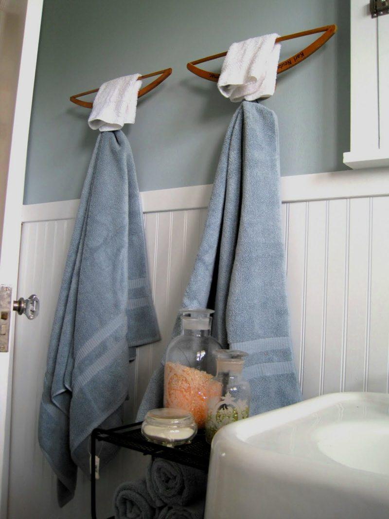 porta asciugamani fai da te 1