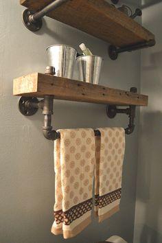 Réaliser un porte serviettes
