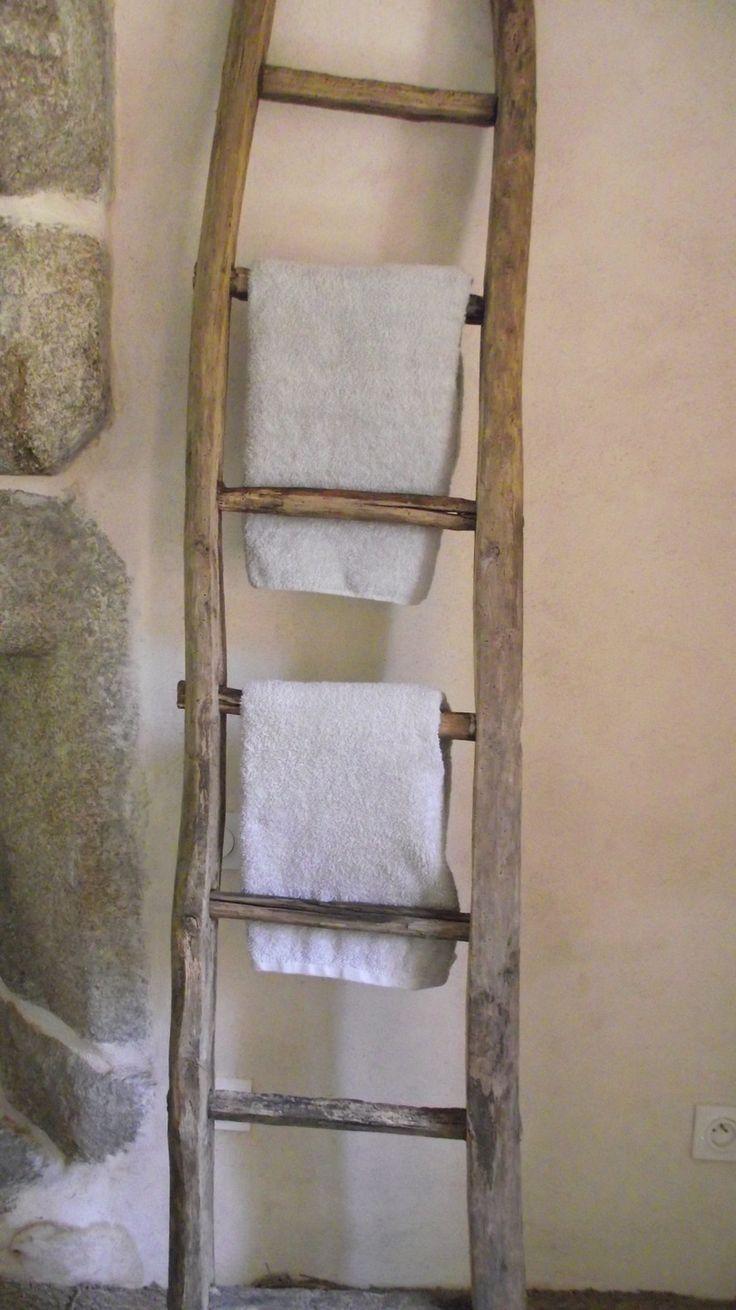 Astuce Rangement Serviette Salle De Bain ~ r aliser un porte serviettes original voici 20 id es