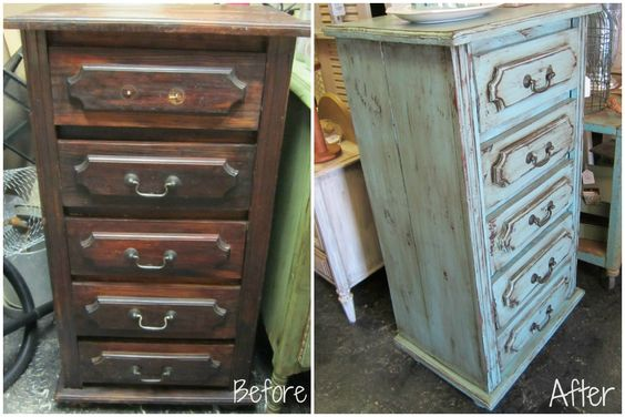 Relooker un vieux meuble style shabby chic vid o 20 for Vieux meuble a retaper
