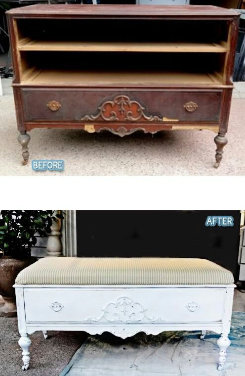 Relooker Un Vieux Meuble Style Shabby Chic Vido   Exemples