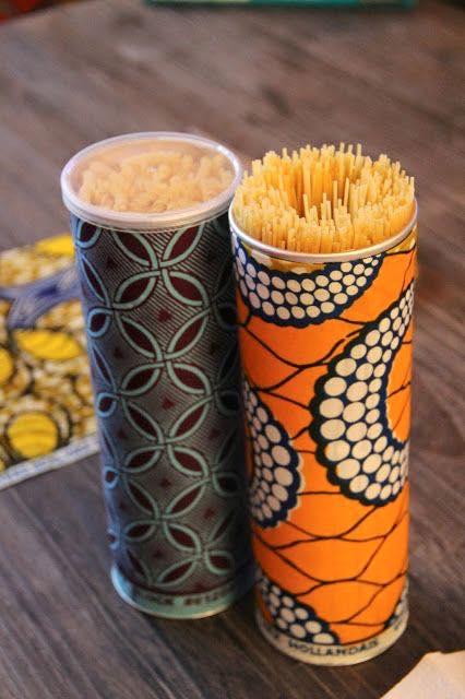 Recycler les boites de chips Pringles
