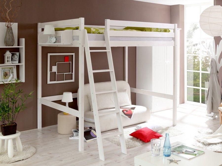 gagner de la place avec un lit mezzanine 20 id es. Black Bedroom Furniture Sets. Home Design Ideas