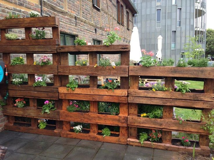 pallets for the garden - Garden Ideas With Pallets