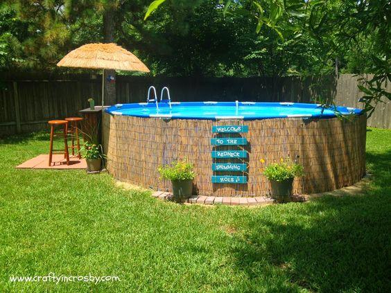Comment embellir une piscine hors sol