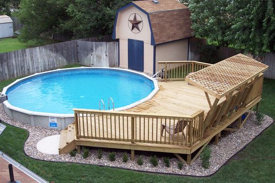 Deco Piscine Hors Sol Affordable Chauffage Pour Piscine Hors Sol - Deco piscine hors sol