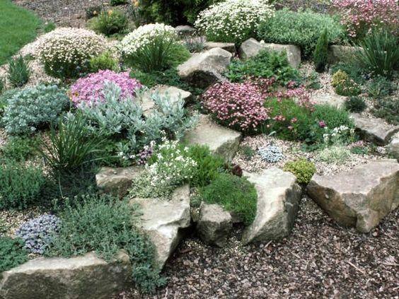R aliser un jardin de pierres 20 exemples laissez vous inspirer video for Amenager un rez de jardin