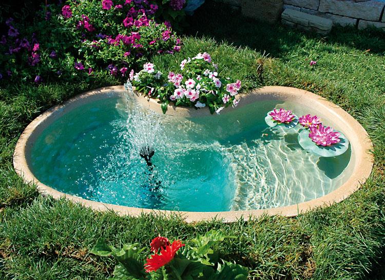 Une petite oasis dans le jardin 20 id es splendides for Laghetti artificiali per giardino