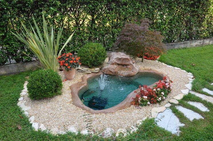 un piccolo oasi in giardino