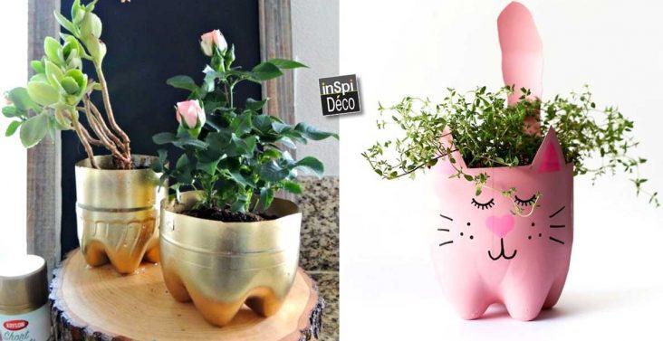 bouteille-plastique-pot-de-fleurs