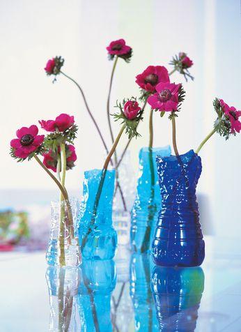 Un petit pot de fleurs