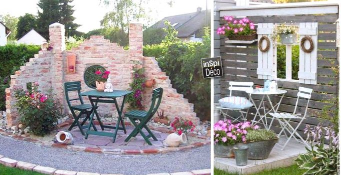 Deco originale jardin for Jardin idee