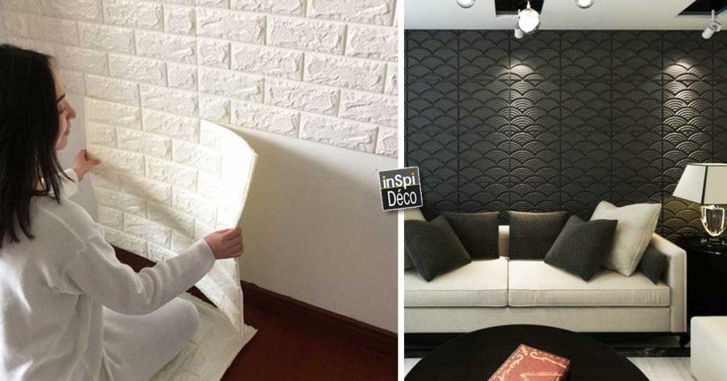 Decorer Les Murs Avec Des Panneaux 3d Facile Et Pas Cher 20 Exemples