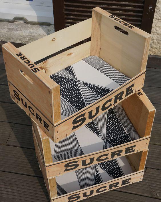 riciclo creativo cassette della frutta