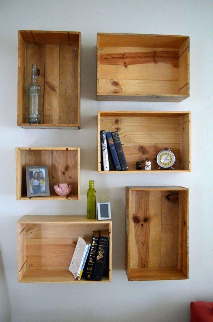 D corer son salon avec des caisses en bois 20 id es pour - Que faire avec des vieilles tuiles ...