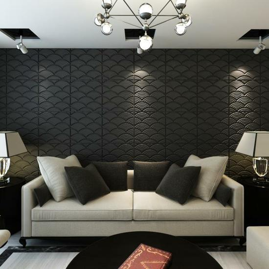 D corer les murs avec des panneaux 3d facile et pas cher 20 exemples - Decorer son interieur ...