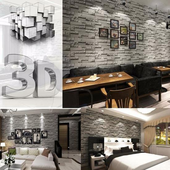 d corer les murs avec des panneaux 3d facile et pas cher 20 exemples. Black Bedroom Furniture Sets. Home Design Ideas