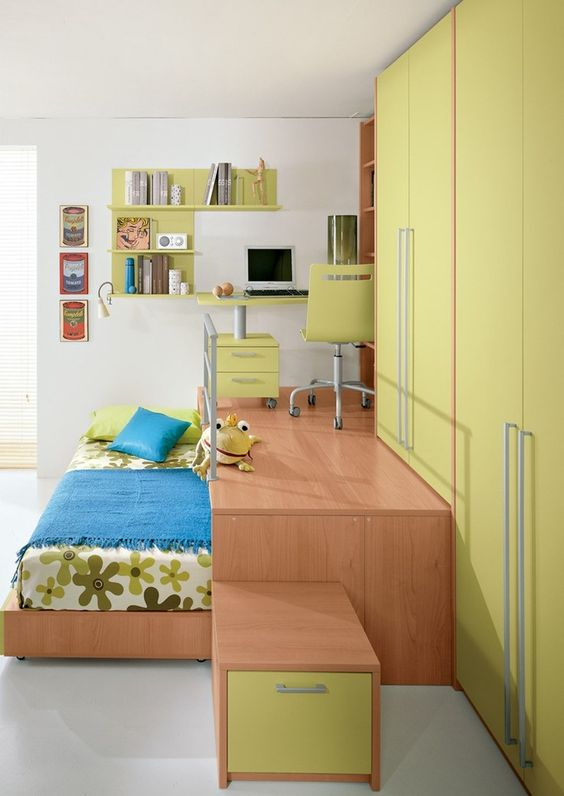 un lit escamotable pour gagner de la place regardez ces 20 id es design. Black Bedroom Furniture Sets. Home Design Ideas