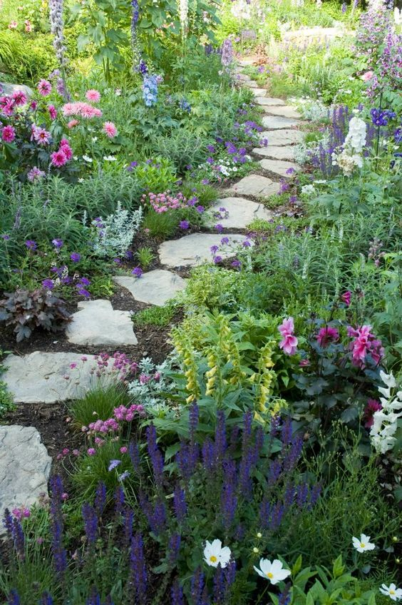 r u00e9aliser une all u00e9e en pierres de jardin  20 exemples