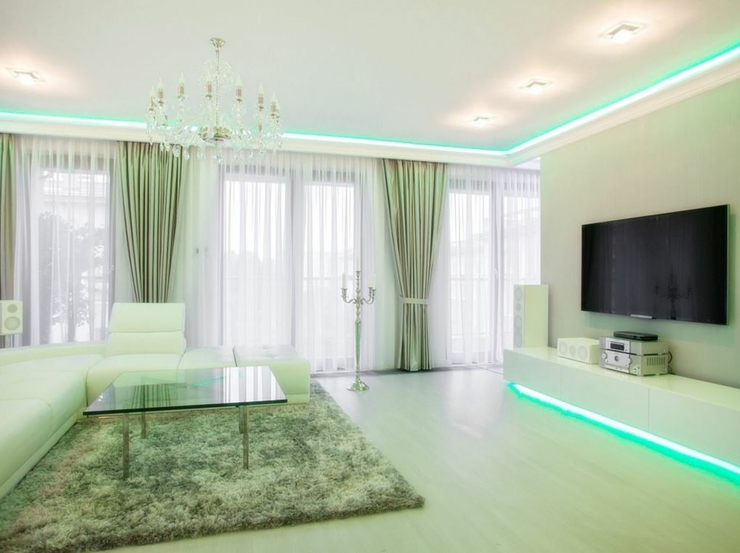 20 id es d co led originales laissez vous inspirer - Comment decorer un appartement blanc ...