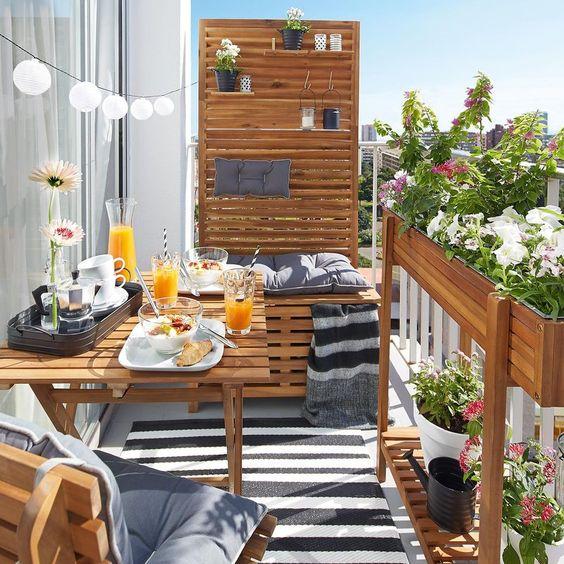 idées déco pour se protéger des regards sur son balcon