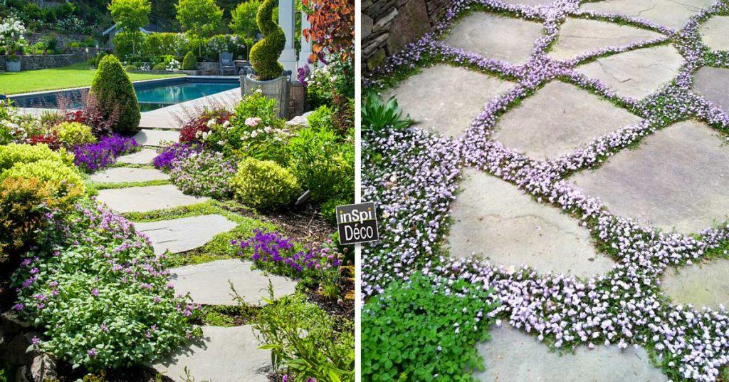 Réaliser une allée en pierres de jardin! 20 exemples ...