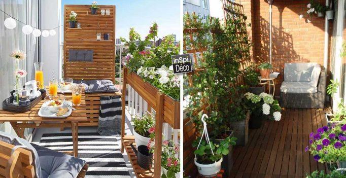 Idées Déco Pour Se Protéger Des Regards Sur Son Balcon! 20 Exemples