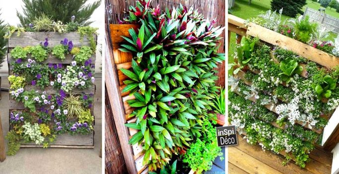 Une Palette de fleurs pour décorer son jardin! 20 idées pour vous ...